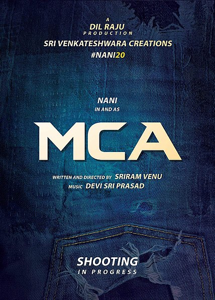 Nani, Sai Pallavi Telugu movie MCA (Middle Class Abbayi) 2017 wiki, full star-cast, Release date, Actor, actress, Song name, photo, poster, trailer, wallpaper