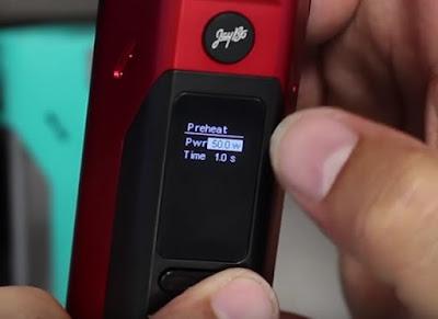 Kegunaan Fitur Preheat Pada Mod Electrical