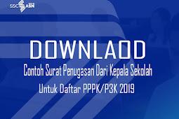 Download Contoh Surat Penugasan Dari Kepala Sekolah Untuk Daftar PPPK/P3K 2019 Word