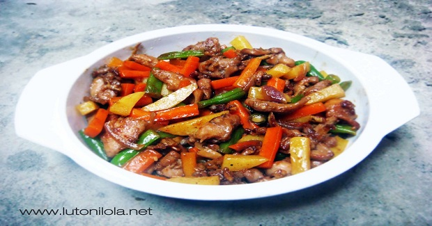 Asian Chicken & Vegetables Stir Fry Recipe