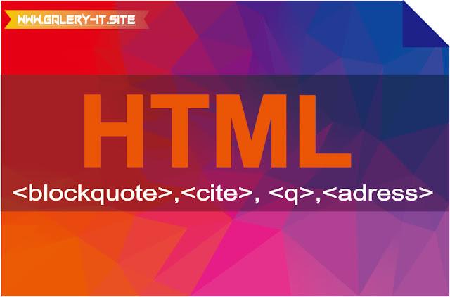 HTML5 #4 : Elemen-Elemen Frase Di HTML5