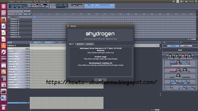 Hydrogen Drum Machine Windows 7 : how to install hydrogen 0 9 7 advanced drum machines on ubuntu new study club ~ Vivirlamusica.com Haus und Dekorationen