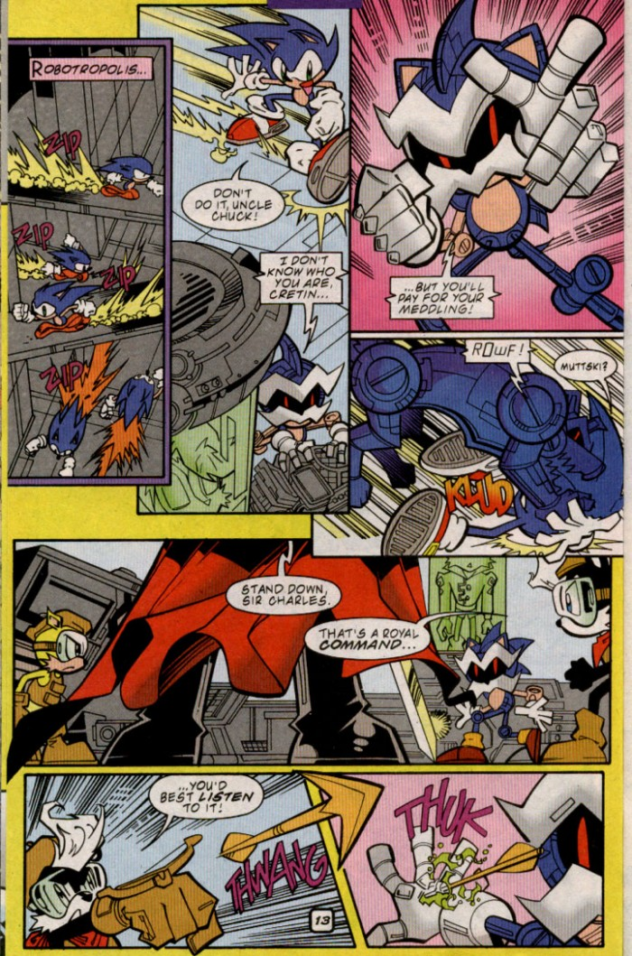 Read online Sonic The Hedgehog comic -  Issue #88 - 14