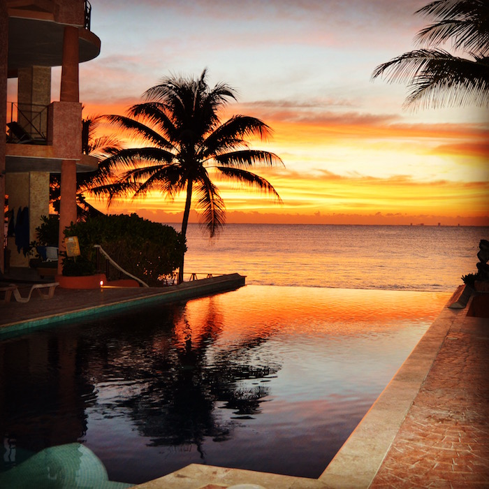 Playa Del Carmen sunrise