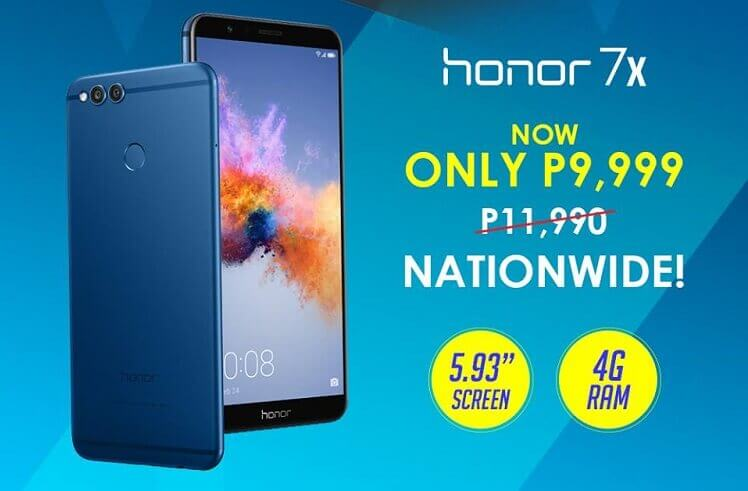 Honor 7X Receives a Price Drop!