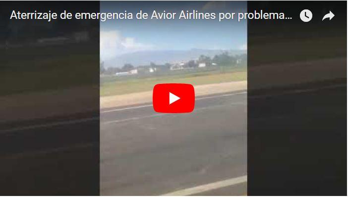 Vuelo de Avior Airlines por poco se despeña por problema de combustible