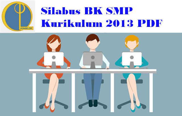Silabus BK SMP Kurikulum 2013 PDF