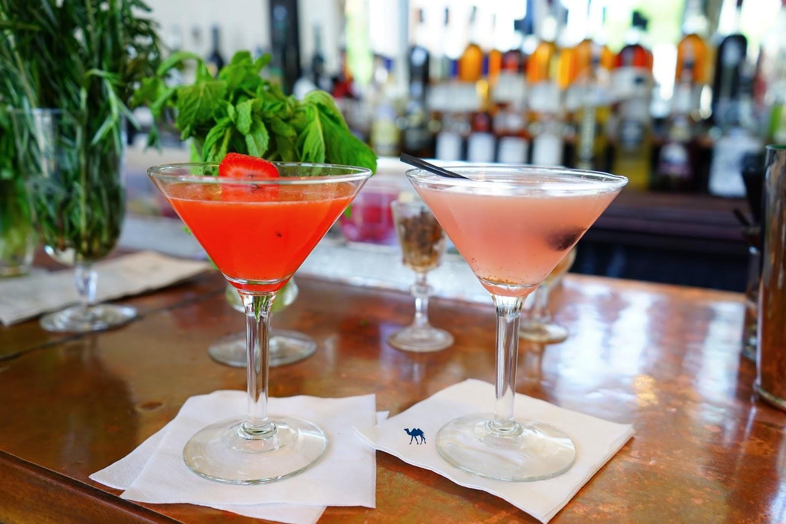 Le Chameau Bleu - Cocktails du botanica Bar à Red Hook  New York USA