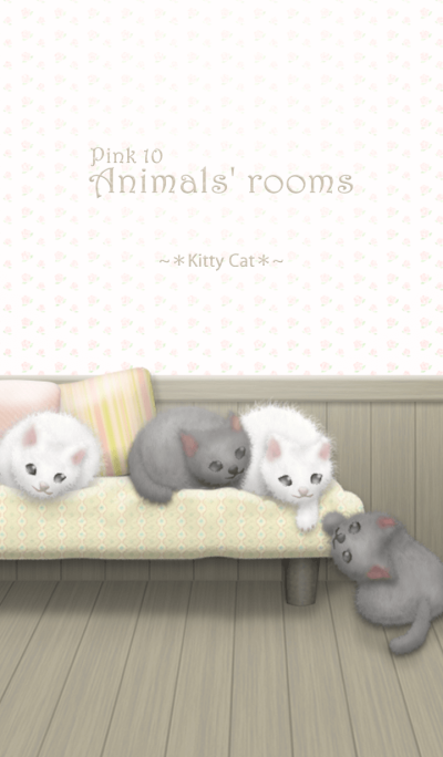 Animals' rooms[Kitty Cat]/Pink 10
