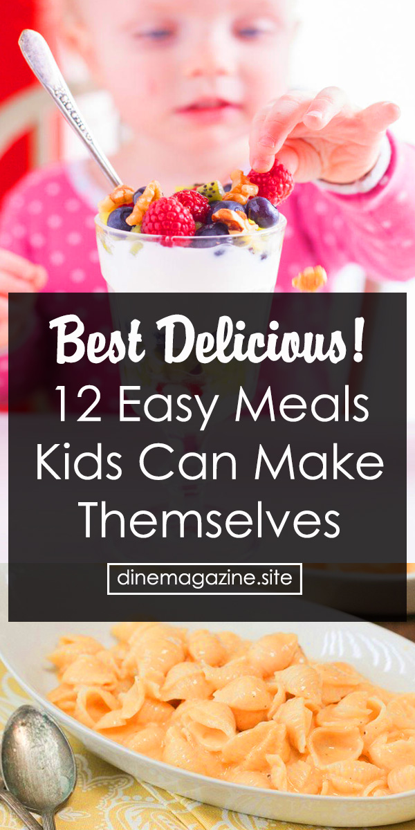 12 Easy Meals Kids Can Make Themselves | Dessert Recipes Fruit, Dessert Recipes For Kids, Dessert Recipes Easy, Breakfast Recipes For Kids, Breakfast Recipes Omelettes, Easy Recipes For Kids To Make, Easy Recipes For Beginners #easymeals #easykidsmeals #kidsmeals #kids #meals #easyrecipe #easyrecipeforkids #breakfast #omelettes #chicken #potpie #chickenpotpie #cereal