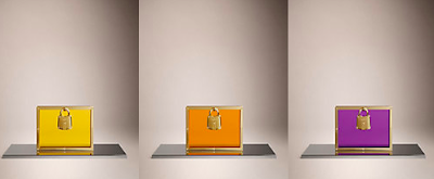 Burberry Perspex Framed Clutches Spring/Summer 2013 SS13