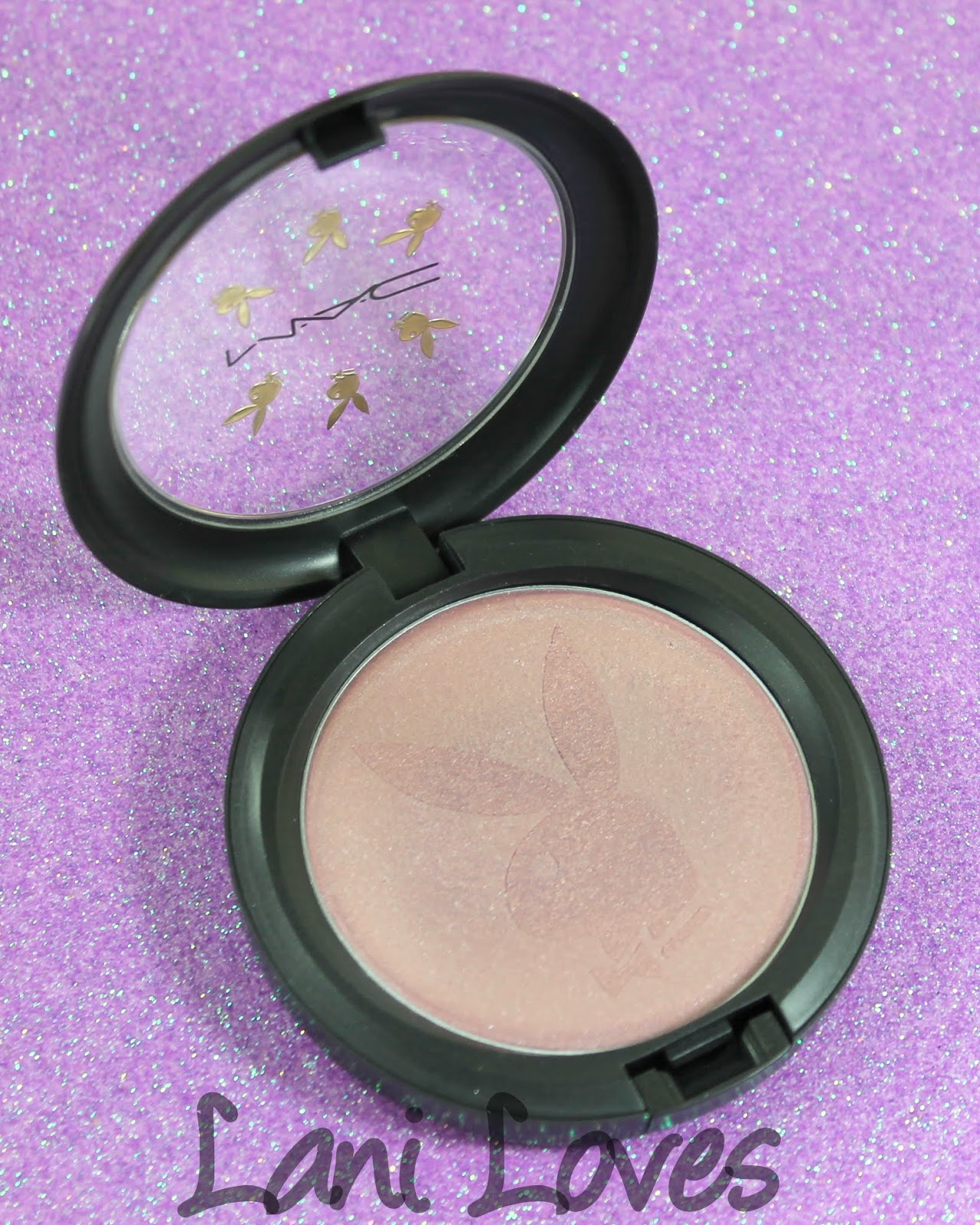 MAC For Playboy - Playmate Pink Glitter Cream Swatches & Review