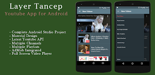 Layer Tancep Youtube Android App Source Code - Download Free