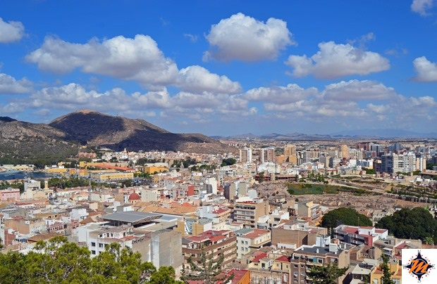 Cartagena, vista sulla città