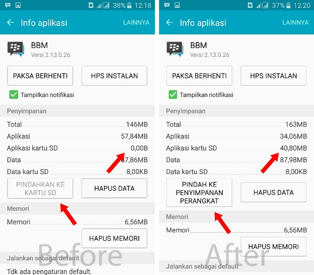 Manager aplikasi Android