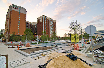 Construction of Canal Park on DC's Capitol Hill makes commercial real estate news headlines, Blake Dickson