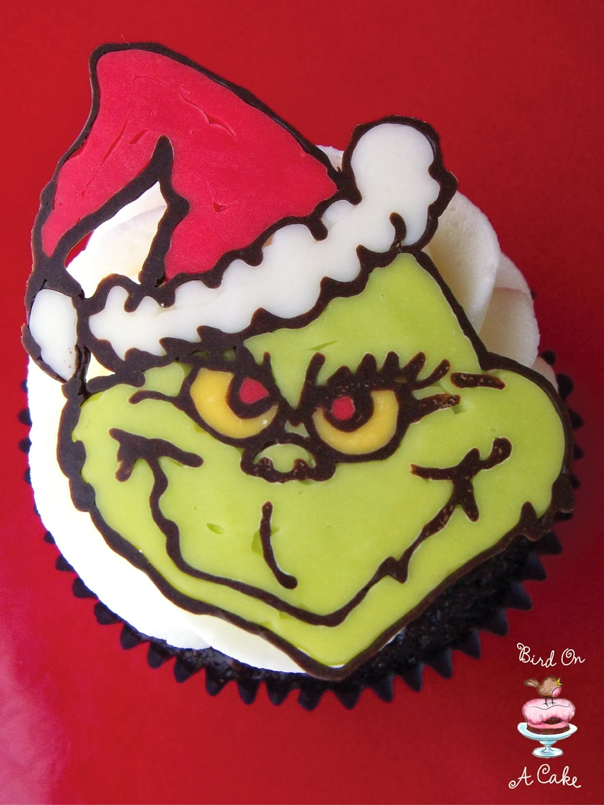 The Grinch Cake Toppers