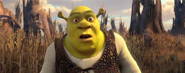 Shrek looking puzzled Shrek Forever After 2010 animatedfilmreviews.filminspector.com