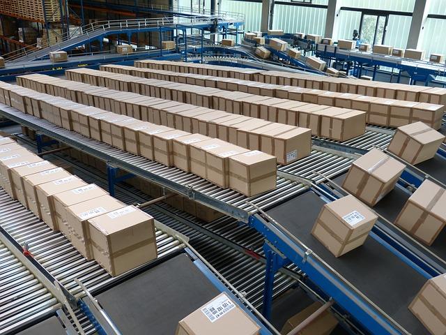Paquetería cajas