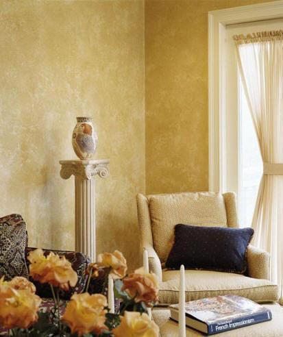 seni cat dekoratif dinding
