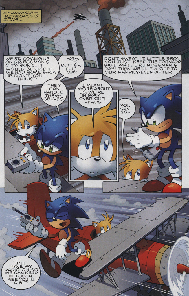 Read online Sonic The Hedgehog comic -  Issue #228 - 29