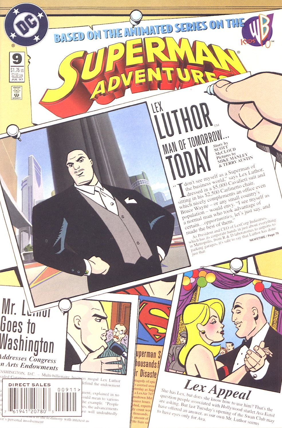 Superman Adventures issue 9 - Page 1