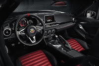 Abarth 124 Spider (2017) Interior