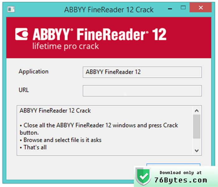 ABBYY FineReader Working Product Number Precrack