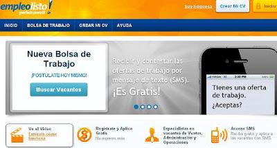 EmpleoListo.com.mx Mexico ofertas laborales por celular