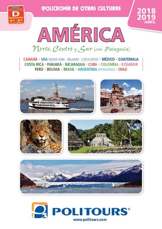 Catálogo Politours Circuitos América 2018-19