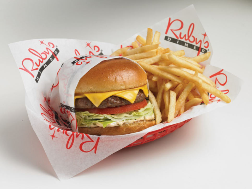 Dec. 7 | Ruby's Diner Celebrates 35 Years with $2.99 RubyBurger and Fries Deal