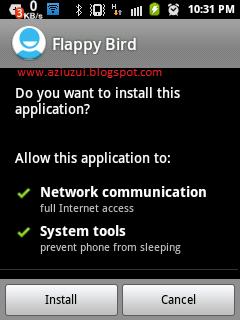 Instal Flappy Bird apk
