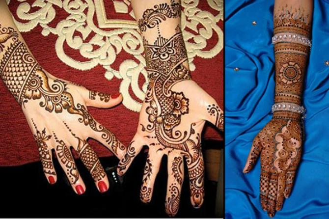 new karva chauth mehndi design