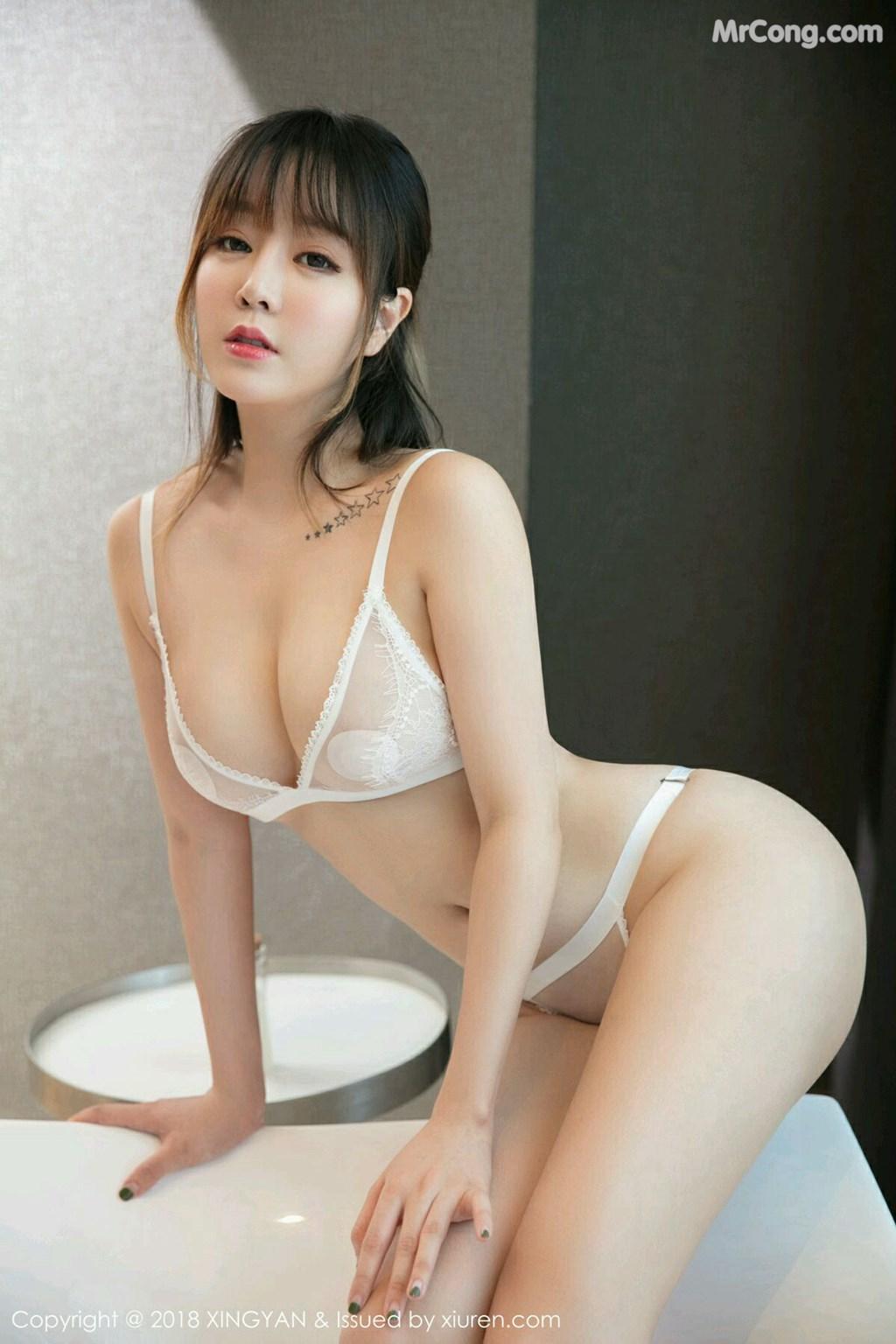 Image XingYan-Vol.076-Wang-Yu-Chun-MrCong.com-010 in post XingYan Vol.076: Người mẫu Wang Yu Chun (王雨纯) (41 ảnh)