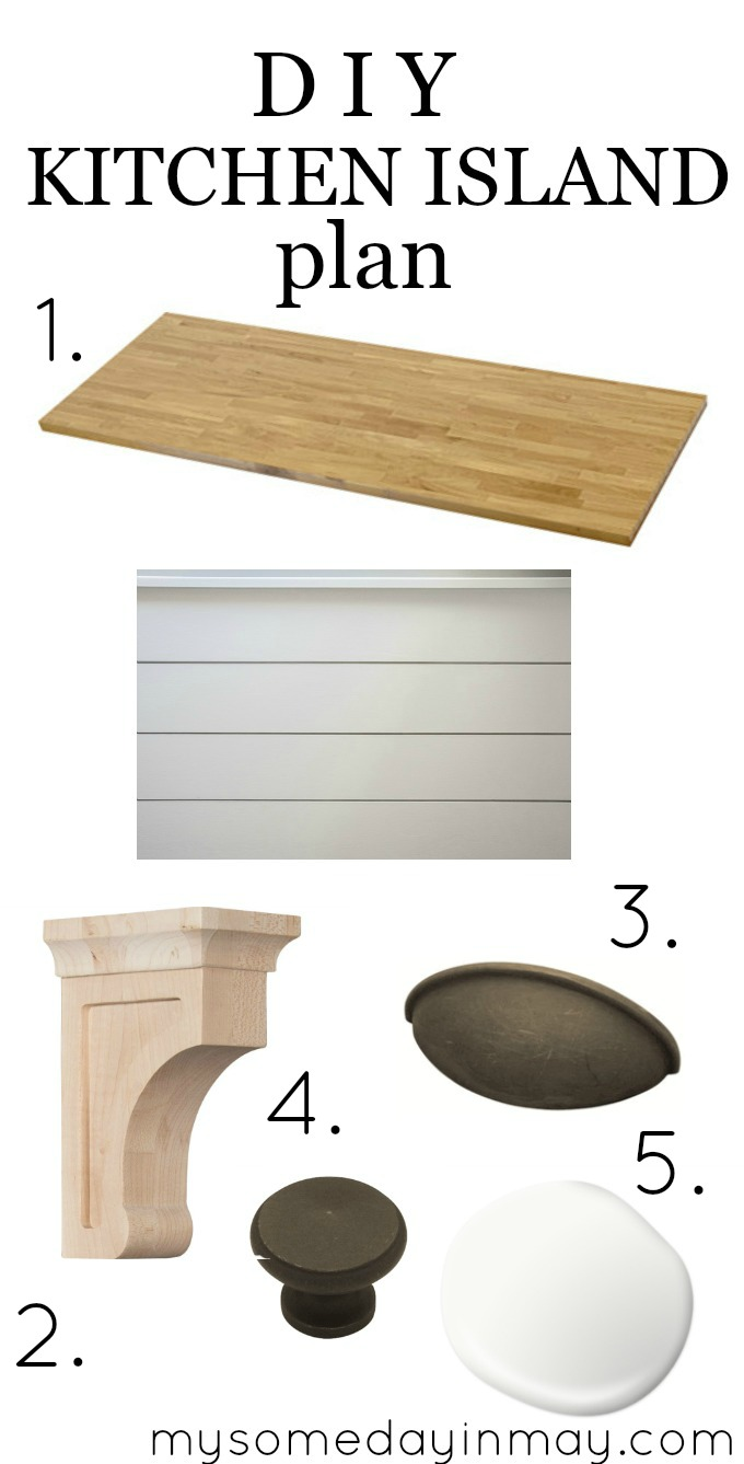 Kitchen Island Plans diy kitchen island plans - my someday in may