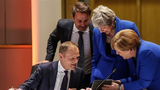 European Union leaders agree to grant British Prime Minister Theresa May a new Brexit deadline of October 31
