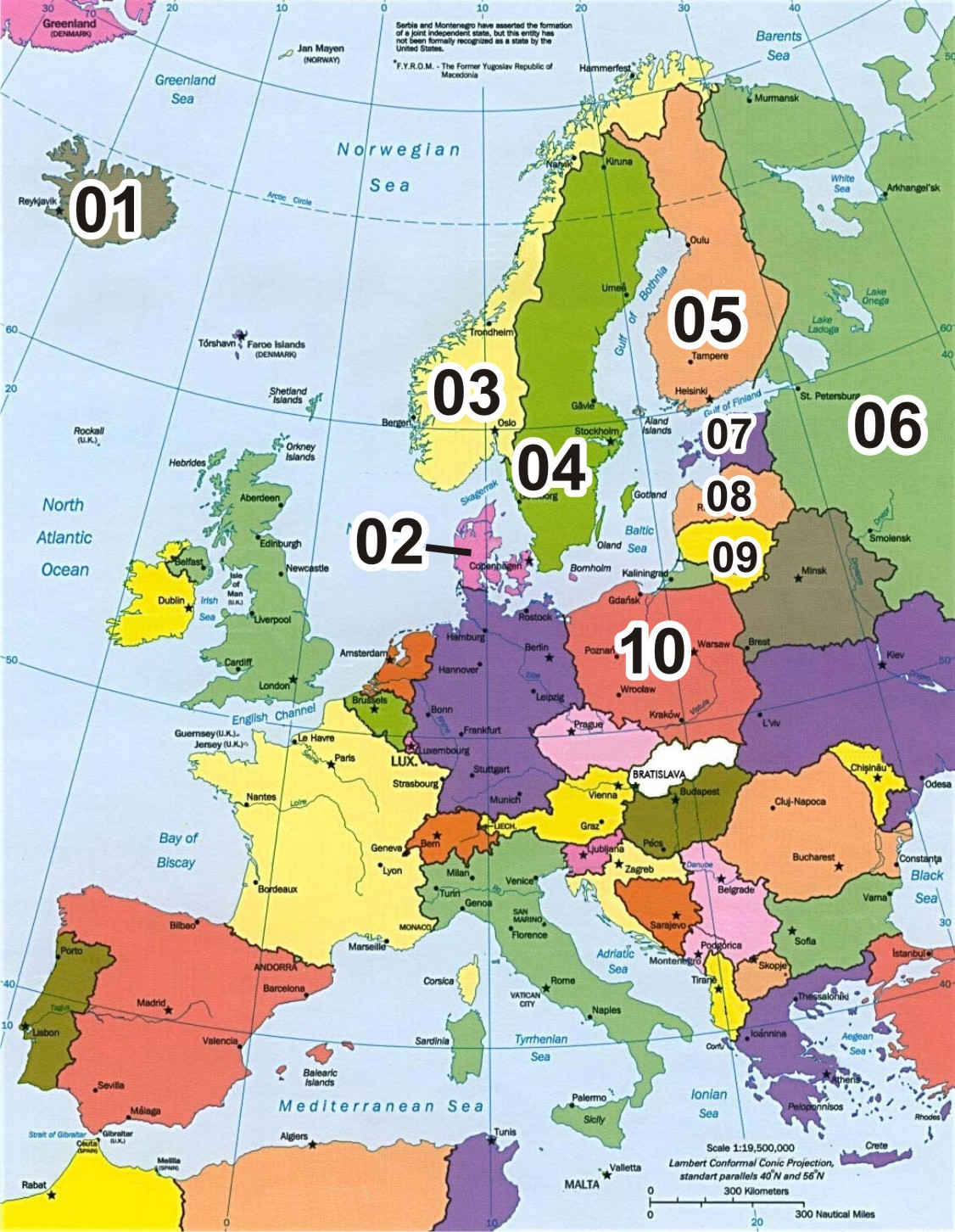 mapa europa do norte Blog de Geografia do prof. André Gregoski: Mapa em branco: Norte  mapa europa do norte