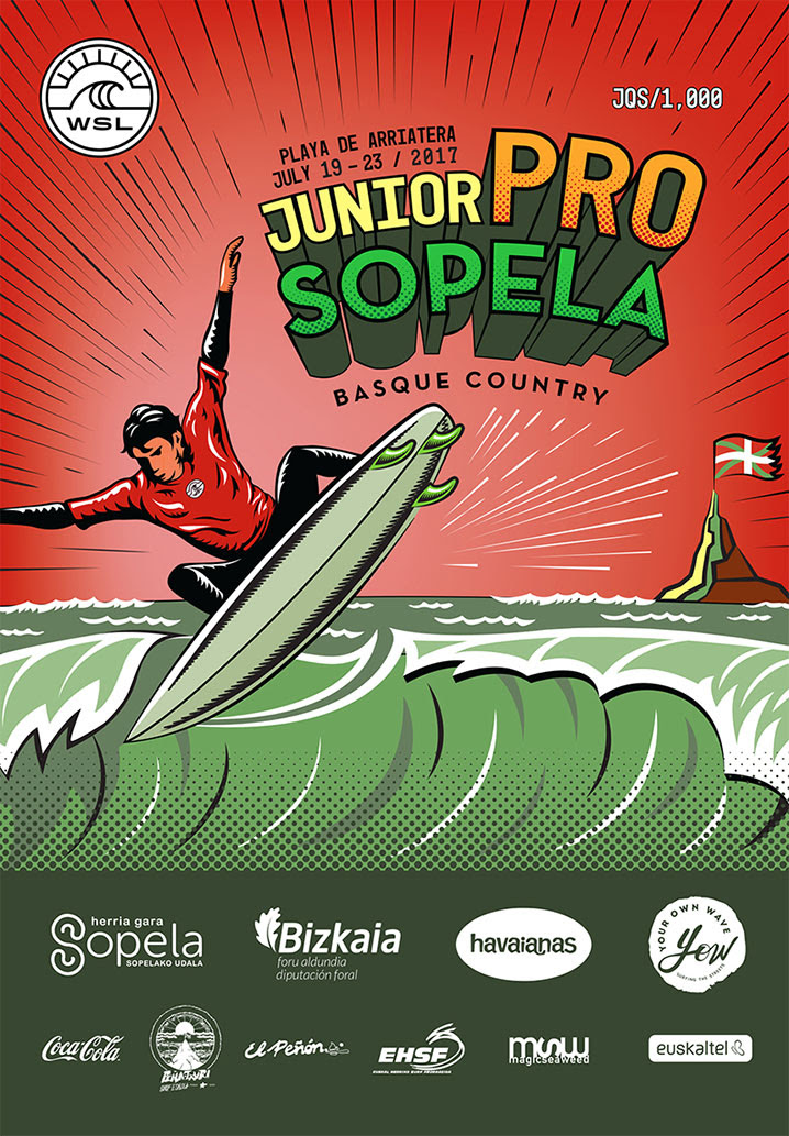 Junior Pro Sopela 2017 Teaser Final European Junior Event Hits the Basque Country