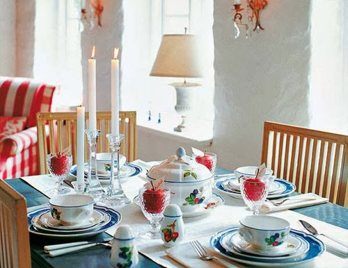 Holiday Dining Table Decorating Ideas