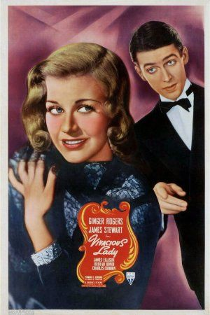 Vivacious Lady 1938 Ginger Rogers James Stewart movieloversreviews.filminspector.com poster