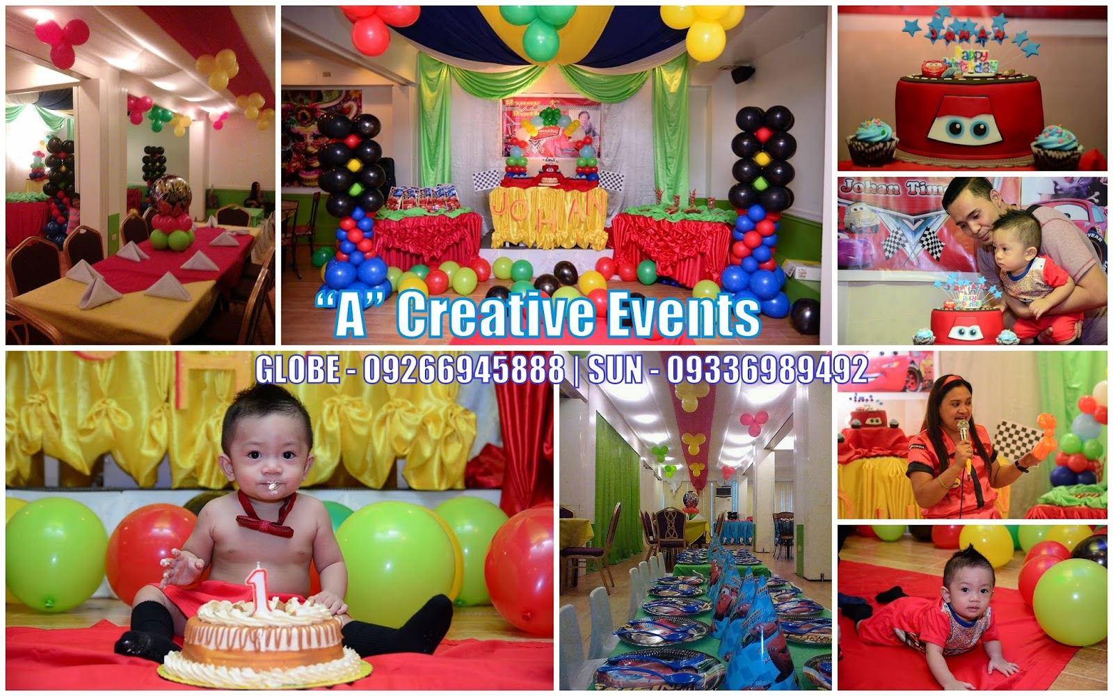 Cars Theme Birthday Party Davao City