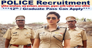 CG Police Recruitment 2018 Notification - 1786 Constable GD & Driver, Cook & Other post