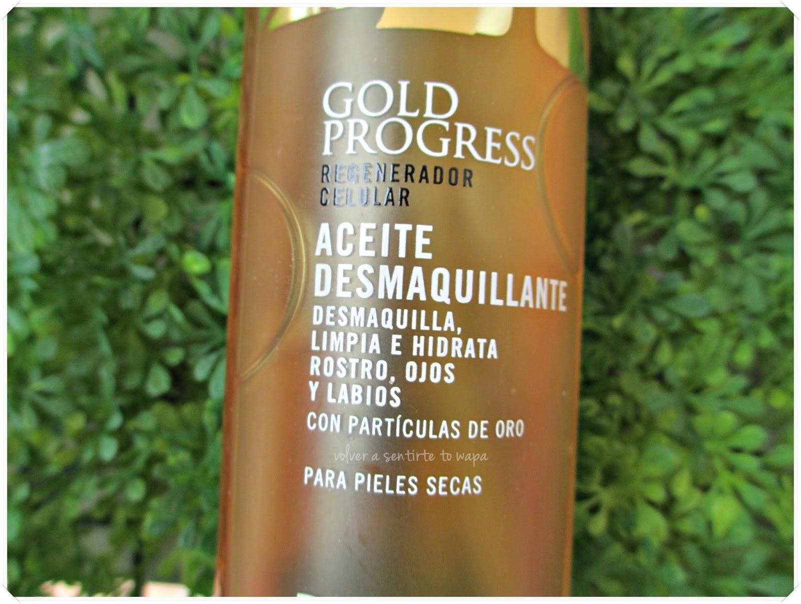 Aceite desmaquillante de Deliplús Gold Progress 14k - Review
