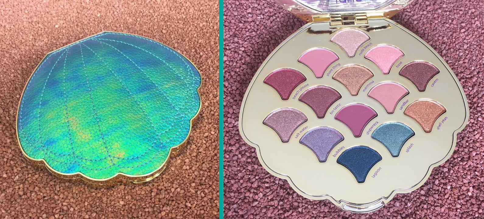 Be A Mermaid & Make Waves Eyeshadow Palette by Tarte #22