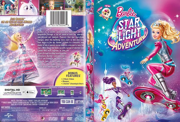 Barbie: Star Light Adventure – Latino, Inglés