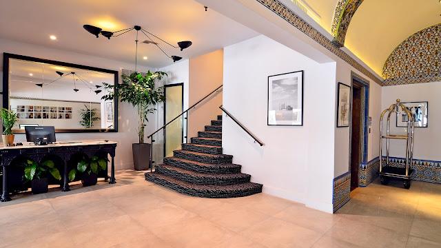 Hall do Hotel St Michel em Miami