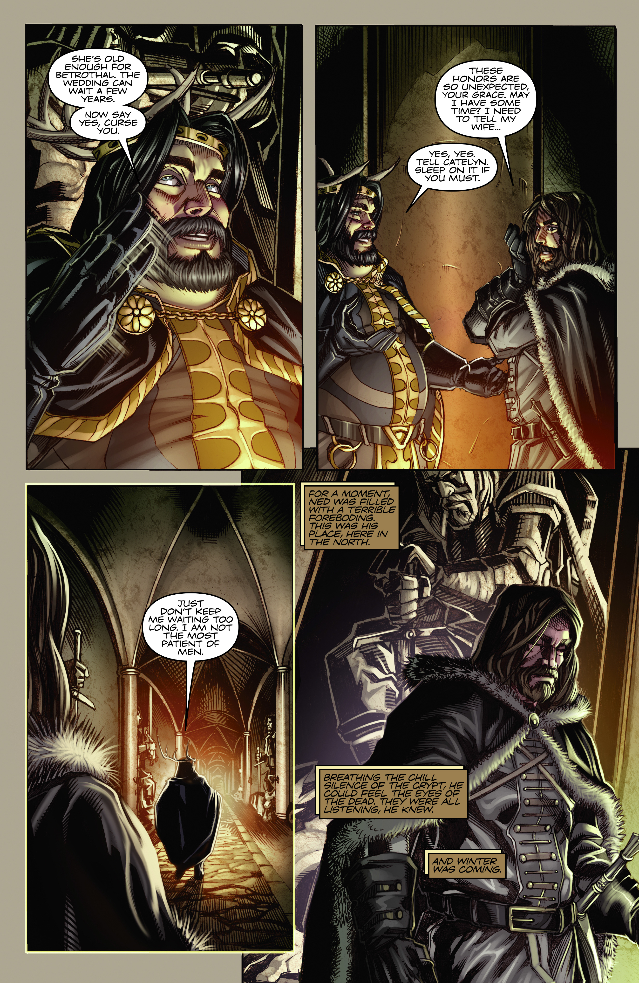 Read online A Game Of Thrones comic -  Issue #2 - 11