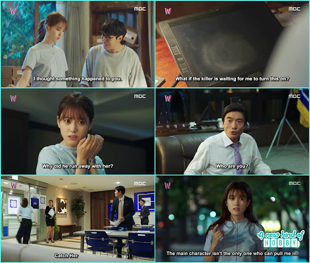 Yeon dragged in the webtroon by congressman han cheol - W - Episode 11 Review