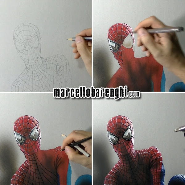 15-Spider-Man-Marcello-Barenghi-Realistic-Movie-Character-Drawings-www-designstack-co