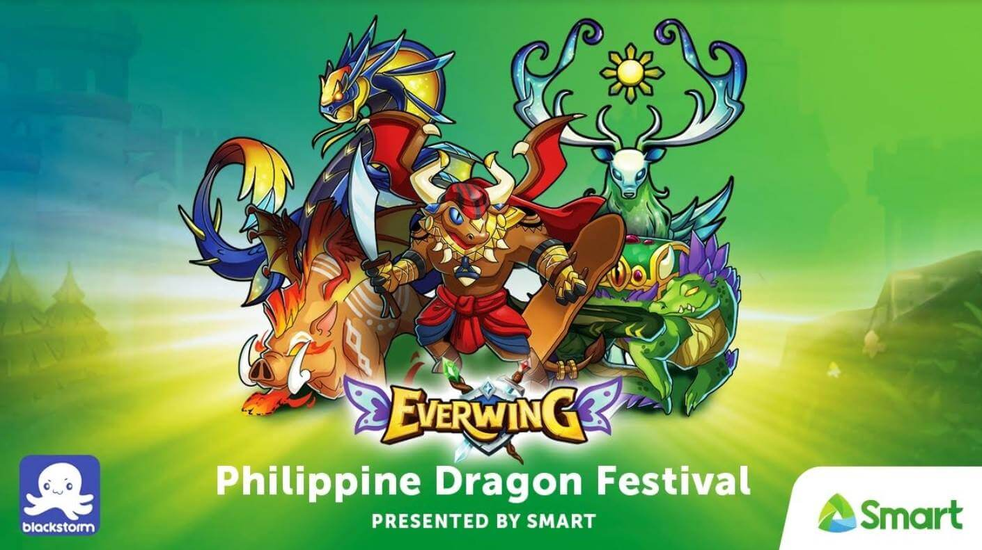 Smart Brings Pinoy Mythical Creatures On EverWing